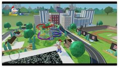 Welcome to Danville, home of Phineas and Ferb! Phineas And Ferb, Disney Infinity, Baseball Field