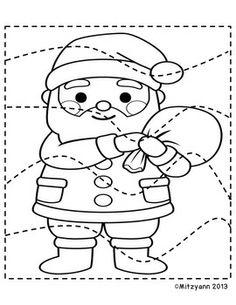 CHRISTMAS SCISSORS ACTIVTIES - TeachersPayTeachers.com Christmas Arts And Crafts, Christmas Activities, Christmas Colors, Kids Christmas, Craft Activities For Kids, Preschool Activities, Crafts For Kids, Christmas Characters, Theme Noel
