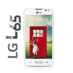 "TELEFONO MOVIL SMARTPHONE LG L65 DUAL CORE 1.2GHZ 4.3"" 4GB / 1GB ANDROID 4.4 KITKAT BLANCO"