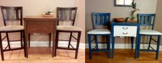 entryway table and chairs
