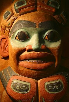 Tlingit Totem Carving Skagway Museum