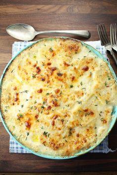 Potato Gratin:15 Modern Passover Recipes for Your Seder Feast via Brit + Co