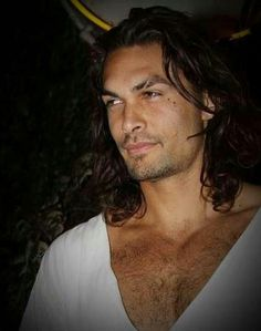 """There was no relenting in Cade's face. Only his eyes showed any hint of what he'd settled with himself, what he was offering."" ~ The Pursuit of Tamsen Littlejohn, Chapter 40, by Lori Benton (actor Jason Momoa pictured). http://www.amazon.com/The-Pursuit-Tamsen-Littlejohn-Novel/dp/0307731499/ref=tmm_pap_title_0"
