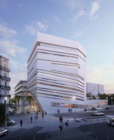 """Corinne Vezzoni et Associés to Design """"Neighborhood of Creativity and Knowledge"""" in Toulon"""