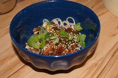Privat: Huhn mit Gemüse und Udonnudeln Tableware, Recipes, Dinnerware, Dishes