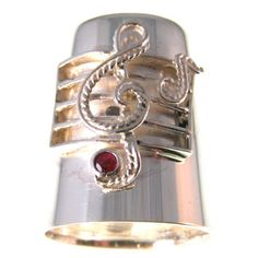 Solid Silver Musical Themed Thimble- it is my goal to find and have this thimble!
