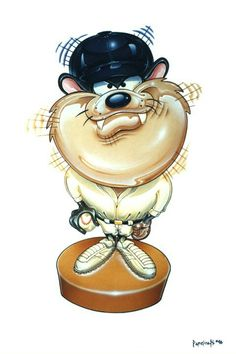 Mischievous Little Devil ツ Taz Classic Cartoon Characters, Classic Cartoons, Tasmanian Devil, Image Fun, Looney Tunes, Furry Art, Baseball, Sports, Animals