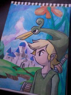 Legend of Zelda - The Minish cap by BrunoSantos96