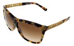 Michael Kors Vintage Tortoise Square Sunglasses