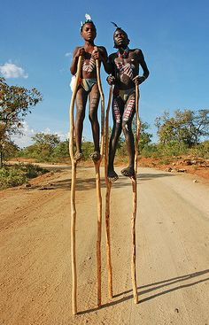 Tribal stilts