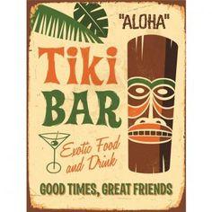 Vente du diable - Tableau, NoName, Tableau Tiki Bar - 30x40 cm - Vente privée Décors muraux jusqu'au 27/04/2015