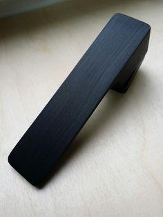 Klamka Minimal kolor Cr-K czarny chrom z pięknym szczotkowaniem