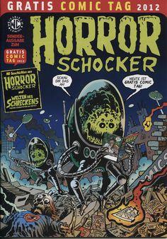 Cover for Horrorschocker Gratis Comic Tag (Weissblech Comics, 2010 series) #2012