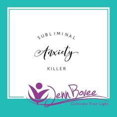 This was so fun for me to record. By signing up for my newsletter you will receive my subliminal anxiety killer recording! You can listen to it while doing anything! https://jennbovee.com.