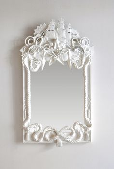 Grand Fluyt Mirror by Dering Hall