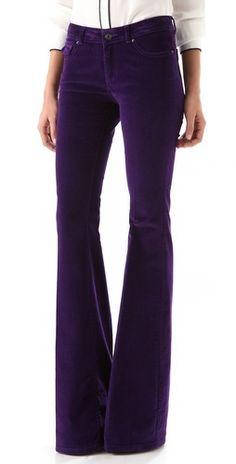 Rachel Zoe Corduroy Flare Pants...LOVE