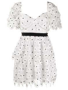 Self Portrait Dress, Tiered Dress, Evening Gowns, Designer Dresses, Summer Dresses, Party Dresses, Women Wear, Cute Outfits, White Dress