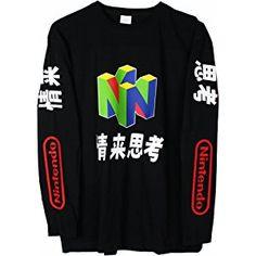 N64 Japanese Long Sleeve T-Shirt