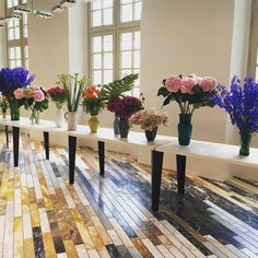 """Celine showroom flowers to brighten up a rainy day (same shot everyone is probably posting!) #Celine #PFW"""