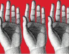 la mia mano sinistra è sola Fornasetti, Hands