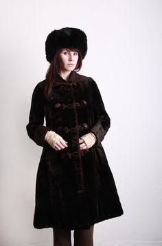 1900s Velvet Coat . Antique Jacket . Boutique Vintage by VeraVague, $425.00