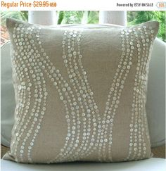 10% HOLIDAY SALE Decorative Pillow Covers Accent by TheHomeCentric