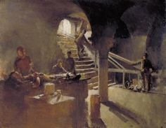 Underground Casualty Clearing Station Arras (Art.IWM ART 1653) Henry Tonks