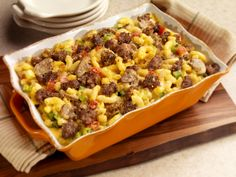 Country Sausage Macaroni & Cheese #bobevans #recipe