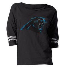 57463562b Ladies Carolina Panthers Long Sleeve T-Shirts