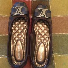 Cute flat shoes Brand new never used inspired shoes size 7 no box. Best offer Louis Vuitton Shoes Flats & Loafers