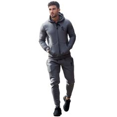 7837d0fd6a50 Gym king slim fit steel grey full tracksuit – Exclusive Sports Full  Tracksuit
