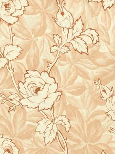 Cathy's Garden Wallpaper in Rosy   Save 15% on all Patton Wallpaper at AmericanBlinds.com with code Patton15