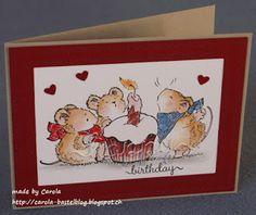Die Penny Black Stempel liebe ich nach wie vor und ich habe für dieses Jahr auch schon ein paar Weihnachtskarten damit gemacht, die ich Euch...