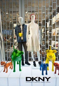 WindowsWear | DKNY, London, March 2013