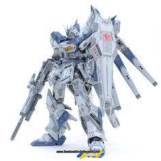 Custom Build: MG 1/100 RX-93-v2 hi-nu Gundam Ver. Ka [Detailed] - Gundam Kits Collection News and Reviews
