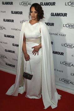 Pin for Later: Seht all' die Girl Power bei den Glamour Awards Dascha Polanco