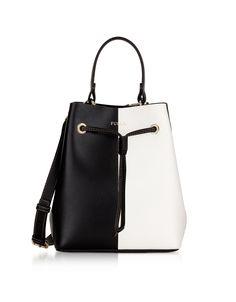 Stacy S Onyx And Petalo Bucket Bag