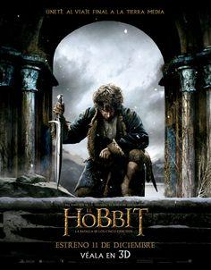 EL HOBBIT, LA BATALLA DE LOS CINCO EJÉRCITOS (The Hobbit: The battle of the five armies) (3D)  Estreno 11 de Diciembre en Chile  +info : www.elbeso.cl
