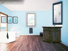 Homestyler, bathroom basic design