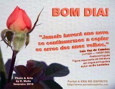 Blog da Beki Bassan - Reflexões: BOM DIA!****************** 22.02.2015