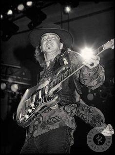 Stevie Ray Vaughan.