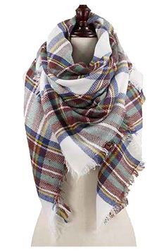 Friday Fashion Inspiration-Blanket Scarf