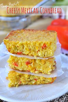 Perfectly moist and bursting with fresh flavor, this cornbread really is The Best Cheesy Mexican Cornbread! | MomOnTimeout.com #ad