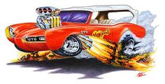 The images of the Monkees GTO on the shirts are as detailed as the art prints.