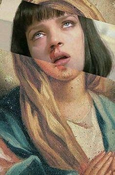 Saint Mia ye be blessed Bad Trip, Tableaux Vivants, Photocollage, Art Plastique, Aesthetic Wallpapers, Art Inspo, Collage Art, Digital Illustration, Art Journals