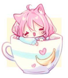 Image result for hyanna natsu chibi doodles teacup