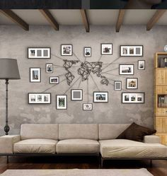 Decorations #worldmap inspiring for the home