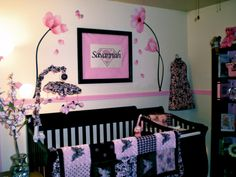 butterfly themed nursery for girls | Project For: Savannah Age: Newborn Location: Maineville, OH ...