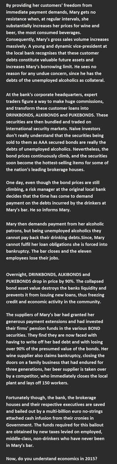 This Woman Just Explained Economics In A Nutshell. And It's So True It Hurts.