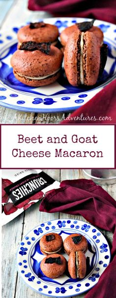 Macaron don't have to be sweet! These Beet Goat Cheese Savory Macaron will surprise your guests in a good way! Macaron Cookies, Macaron Recipe, Macarons, Macaron Flavors, Macaron Filling, Beet And Goat Cheese, French Macaroons, British Baking, Easy Cooking